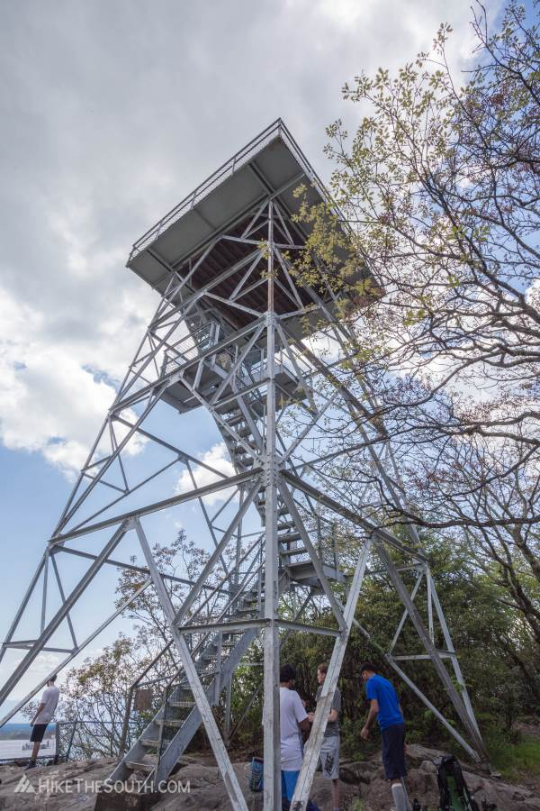 Albert Mountain via Mooney Gap. 