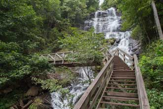 Amicalola Falls Base of the Falls