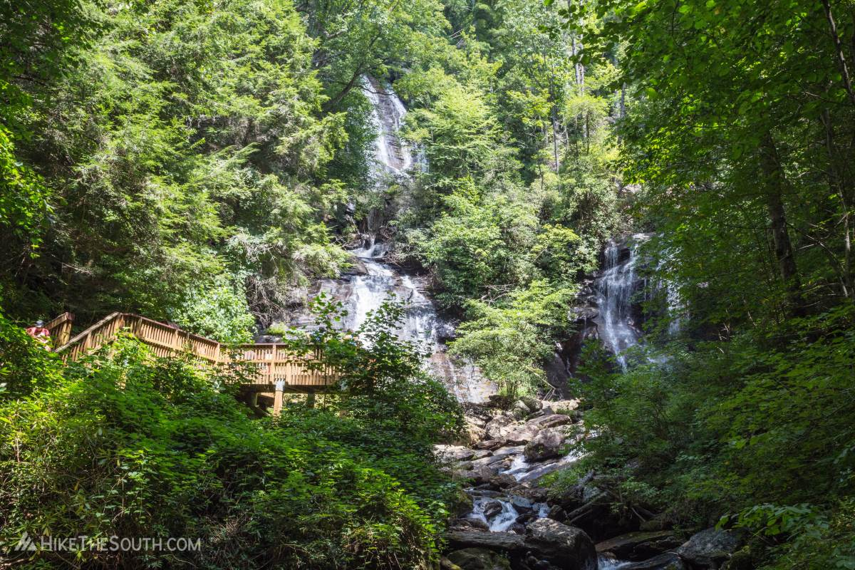 Anna Ruby Falls. 