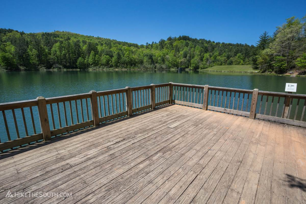 Black Rock Lake Trail. 