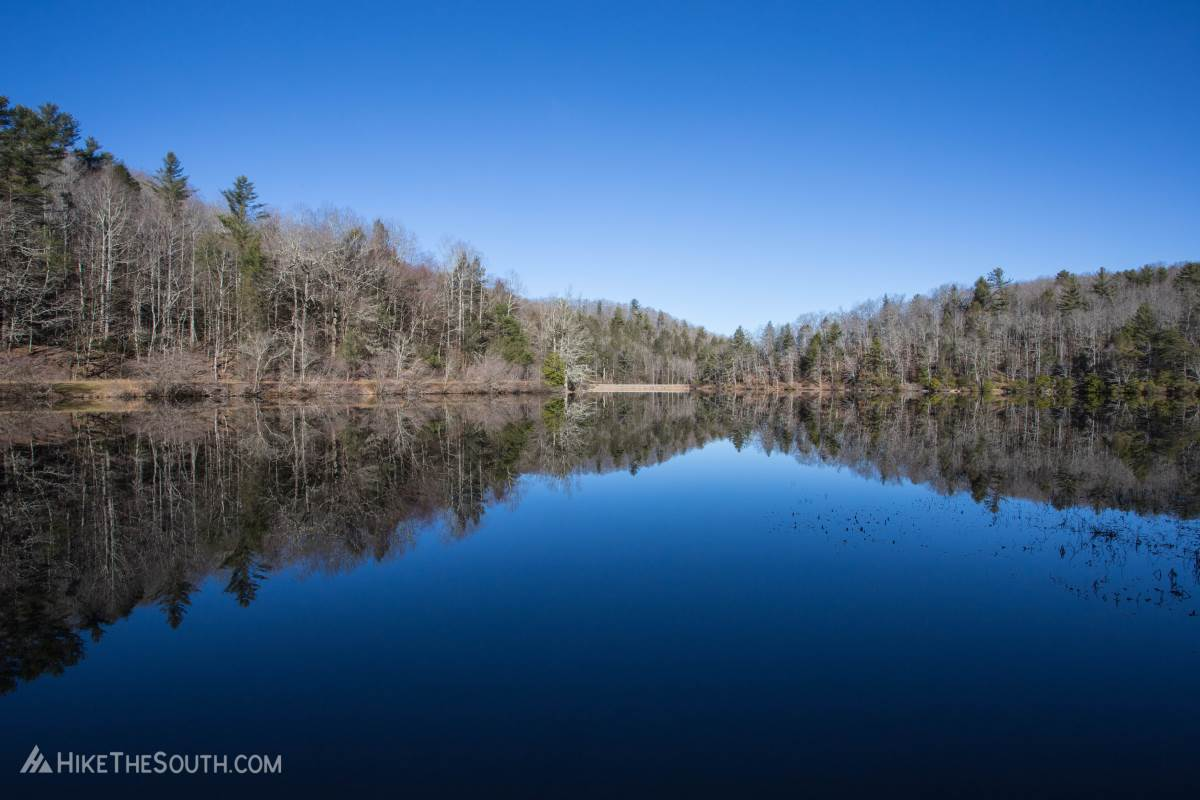 Blood Mountain via Lake Winfield Scott. 