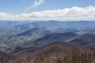 Brasstown Bald via Jacks Knob Trail