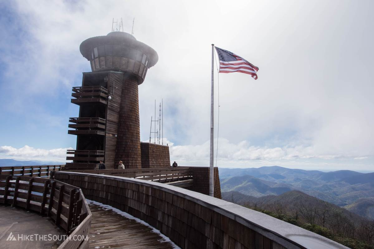Brasstown Bald via Jacks Knob Trail. 