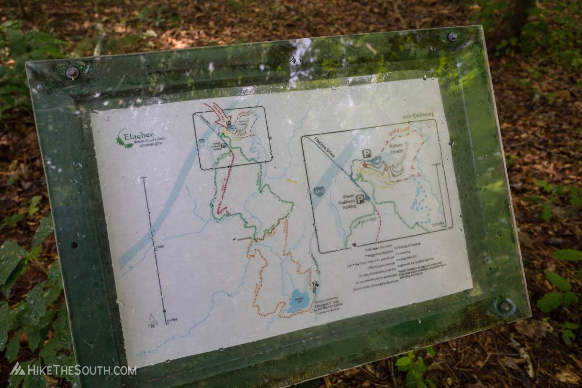 Chicopee Woods Trail System. 