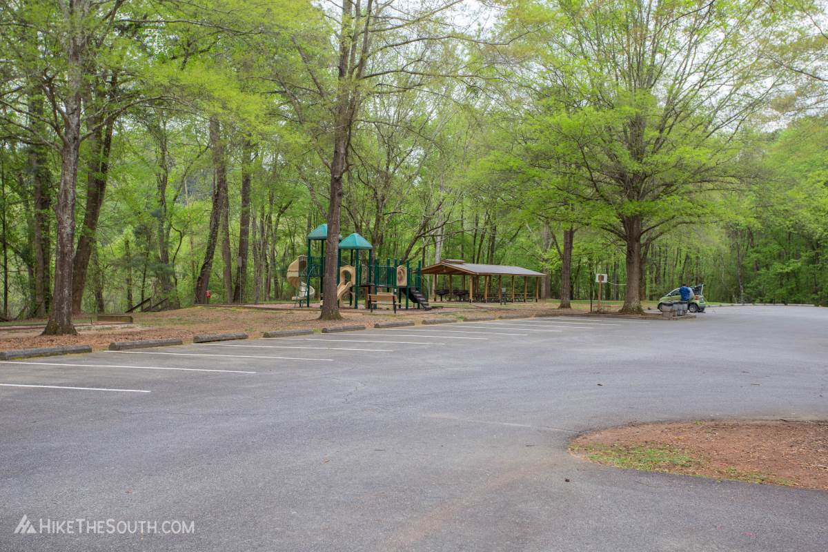 Cooper's Furnace Trail System. 