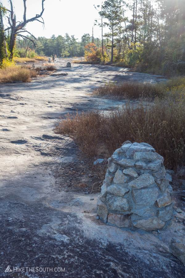 Arabia Mountain Top Trail. 