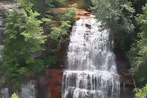 Fall Creek Falls via Base of Falls Trail
