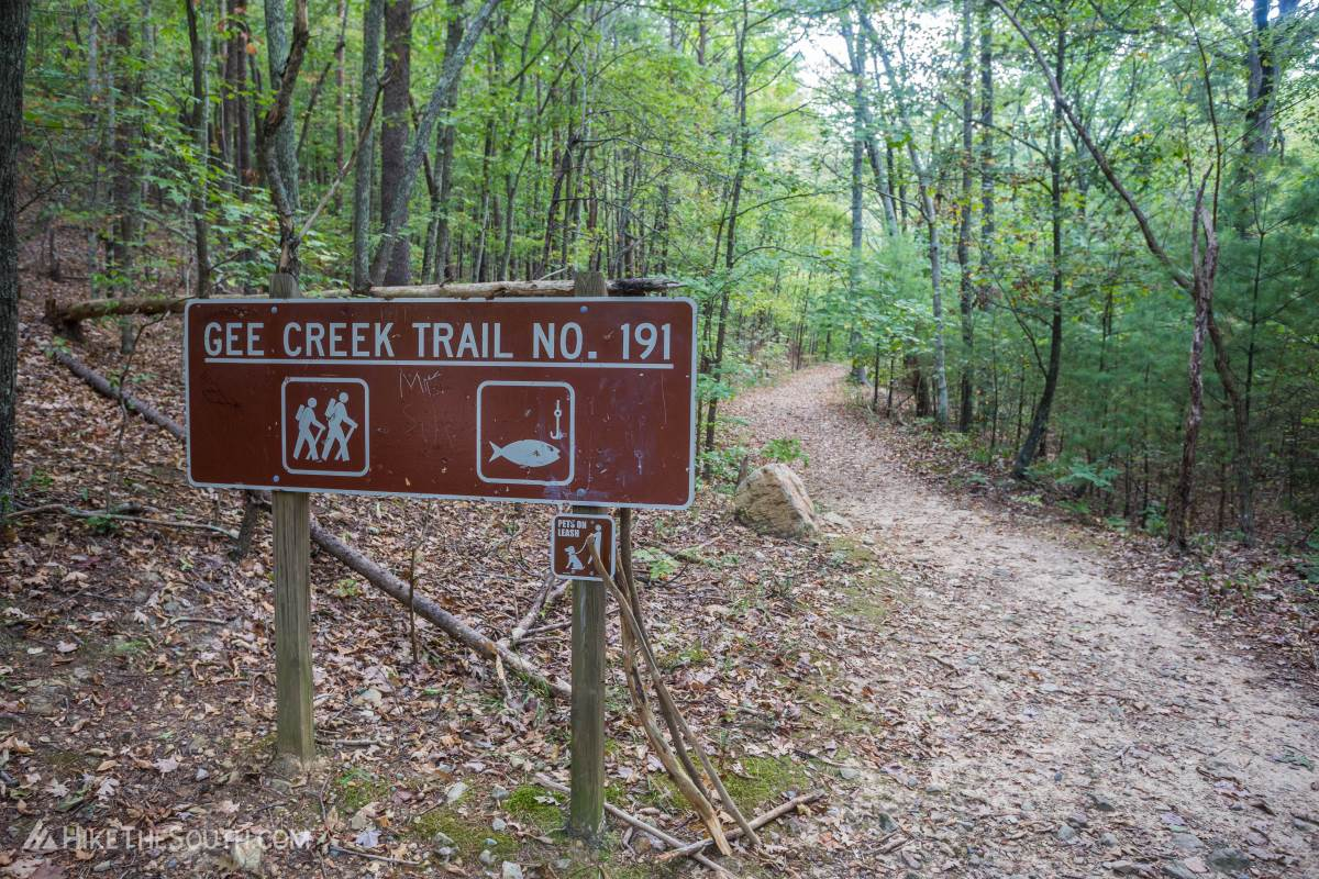 Gee Creek Trail. 