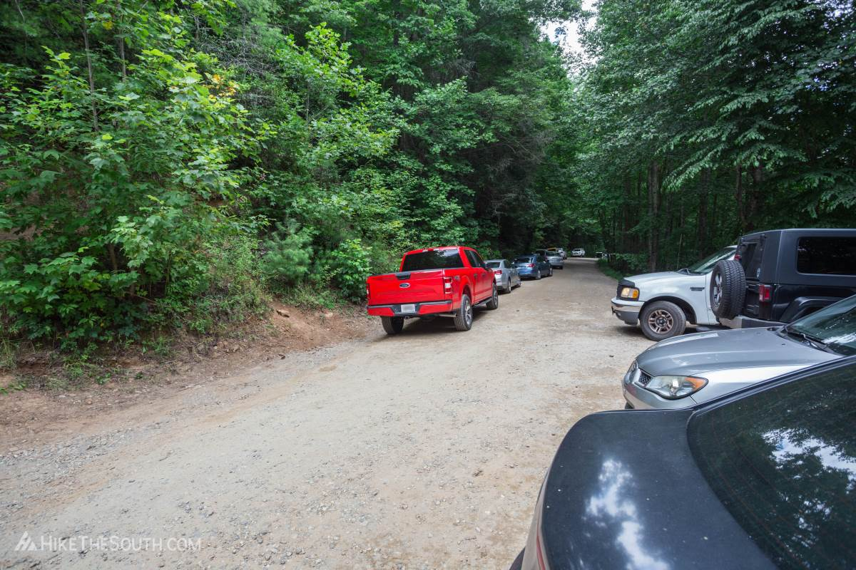 Helton Creek Falls. 