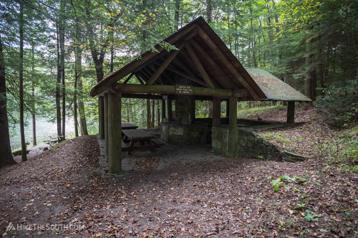 Lake Conasauga. 
