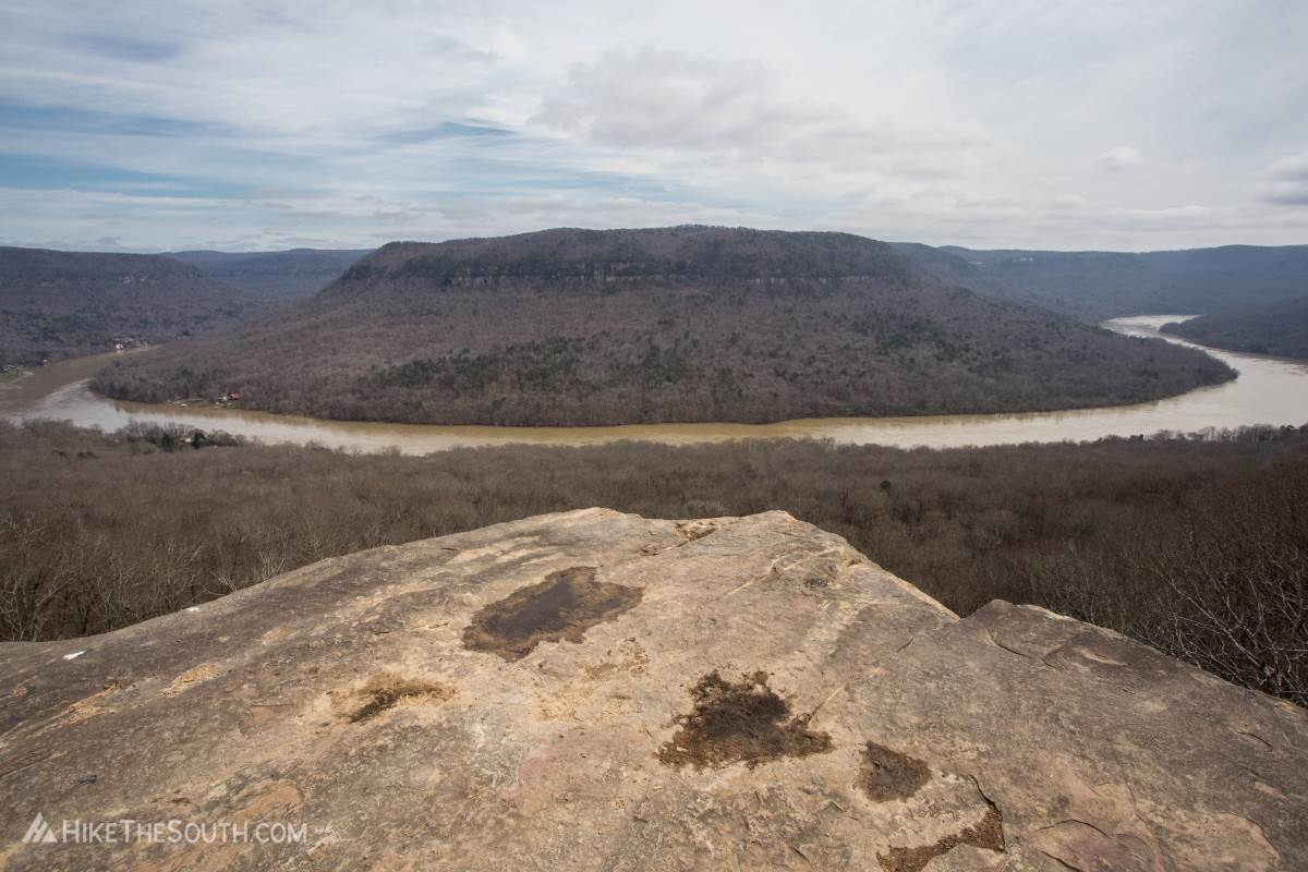 Mullens Cove Loop. 