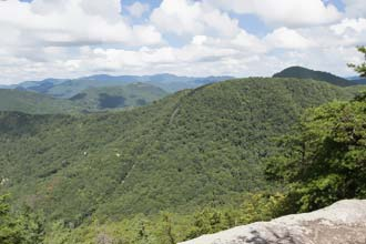 Pinnacle Knob via Warwoman Dell