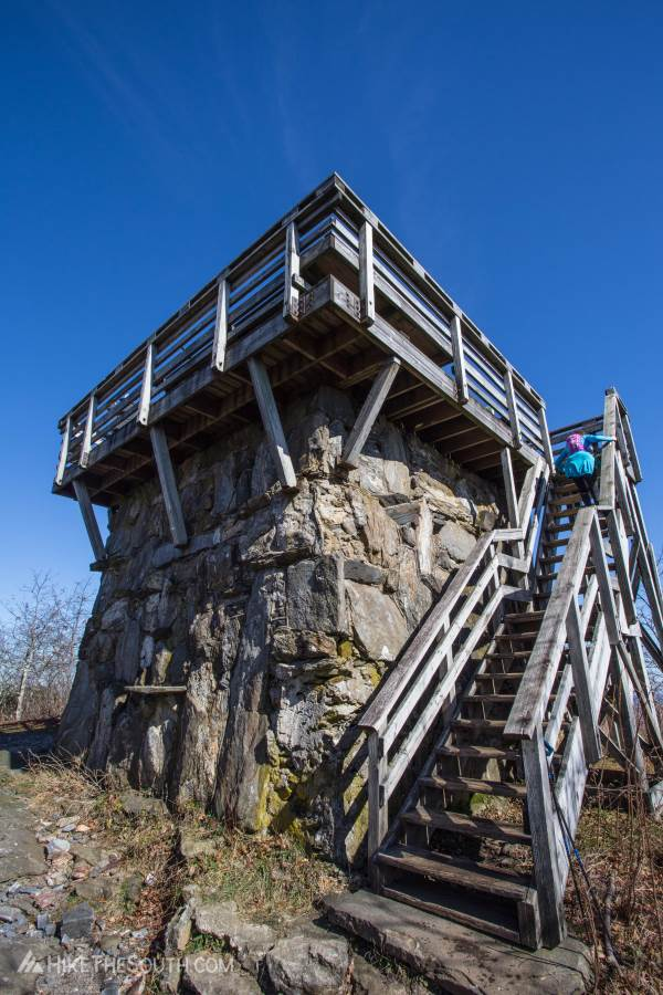 Rabun Bald Trail. 