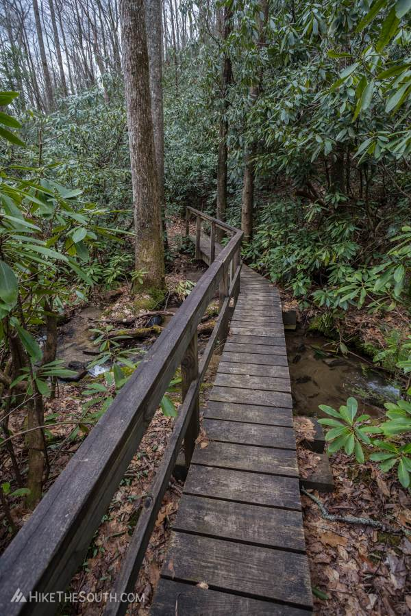 Rabun Bald via Hale Ridge Road. 