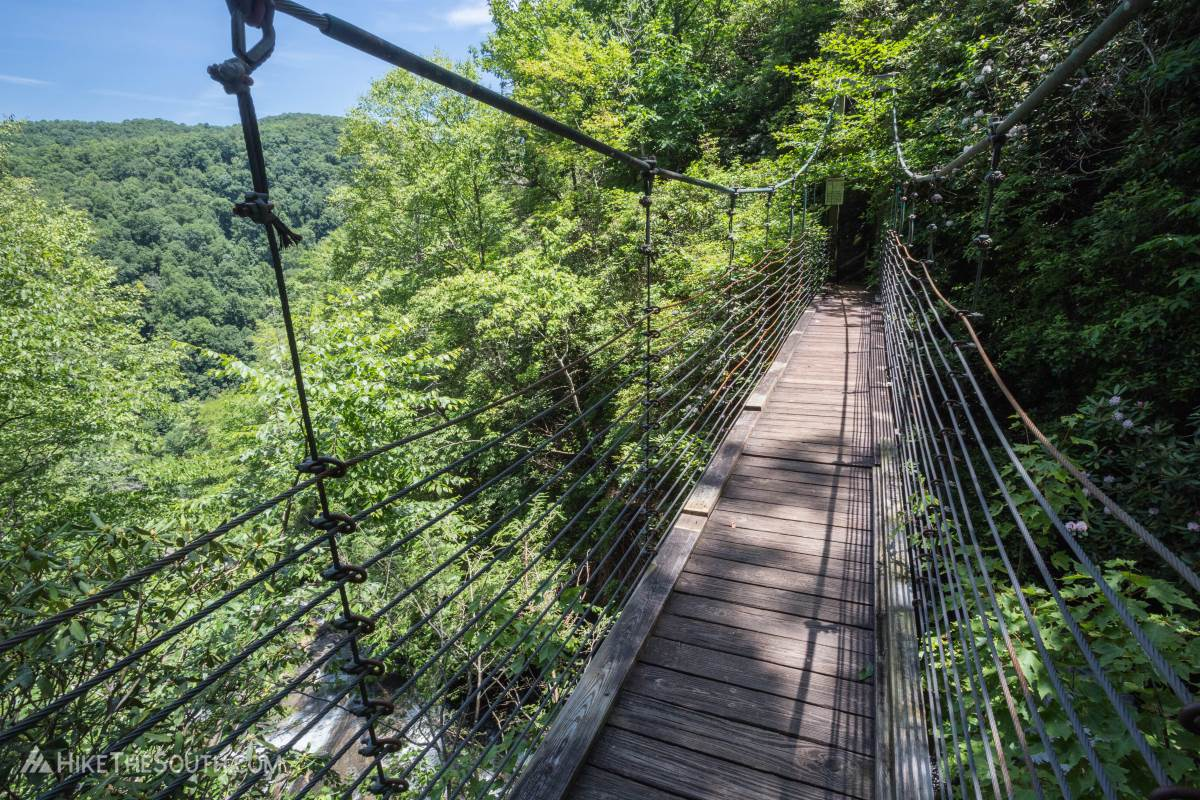 Raven Cliff Falls Loop. 