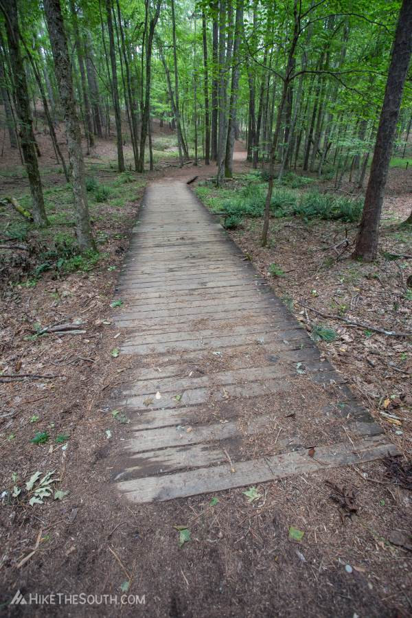 Red Top Mountain Homestead Trail. 