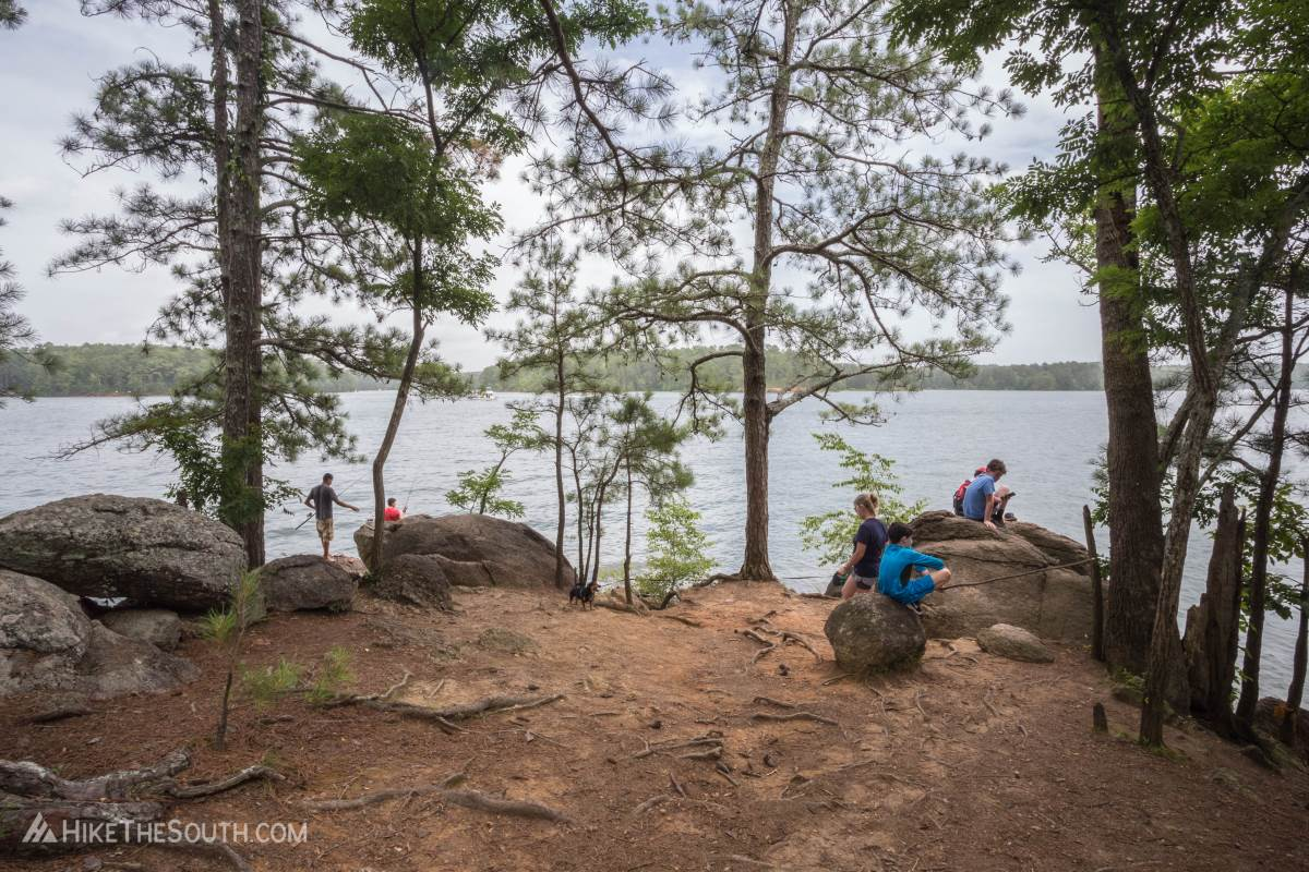Red Top Mountain Sweet Gum Trail. 