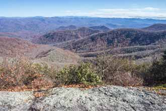 Rocky Bald via Burningtown Gap