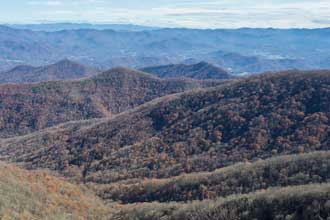 Rocky Bald via Tellico Gap