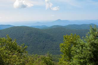 Rocky Mountain via Unicoi Gap