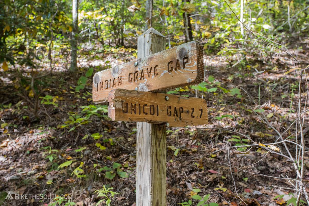 Rocky Mountain via Indian Grave Gap. 