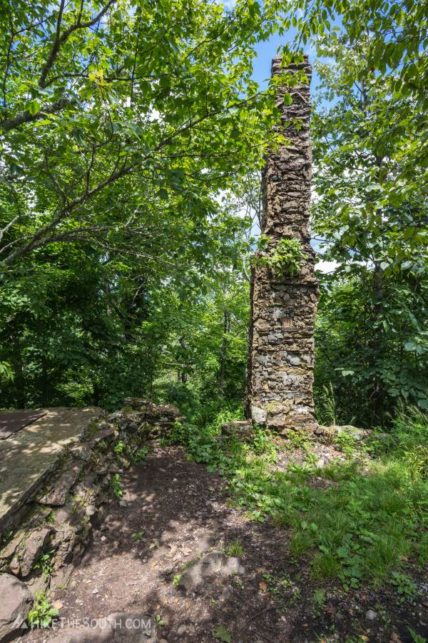 Shuckstack Fire Tower. 
