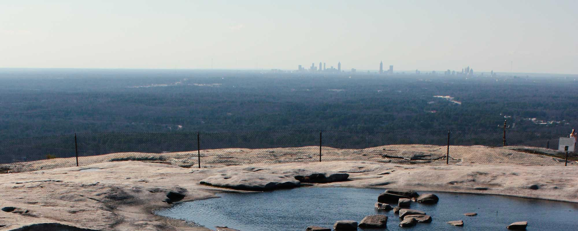 Stone Mountain Walk Up Trail
