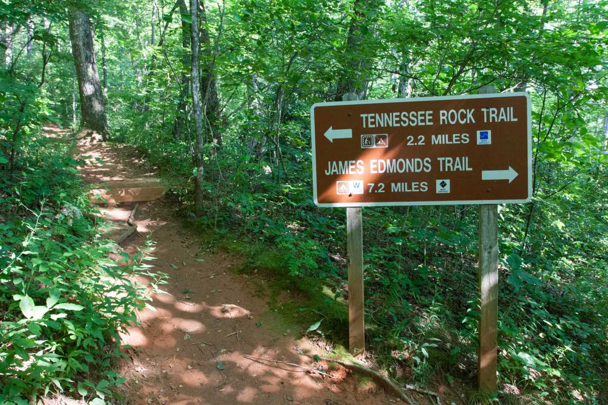 Tennessee Rock Trail. 
