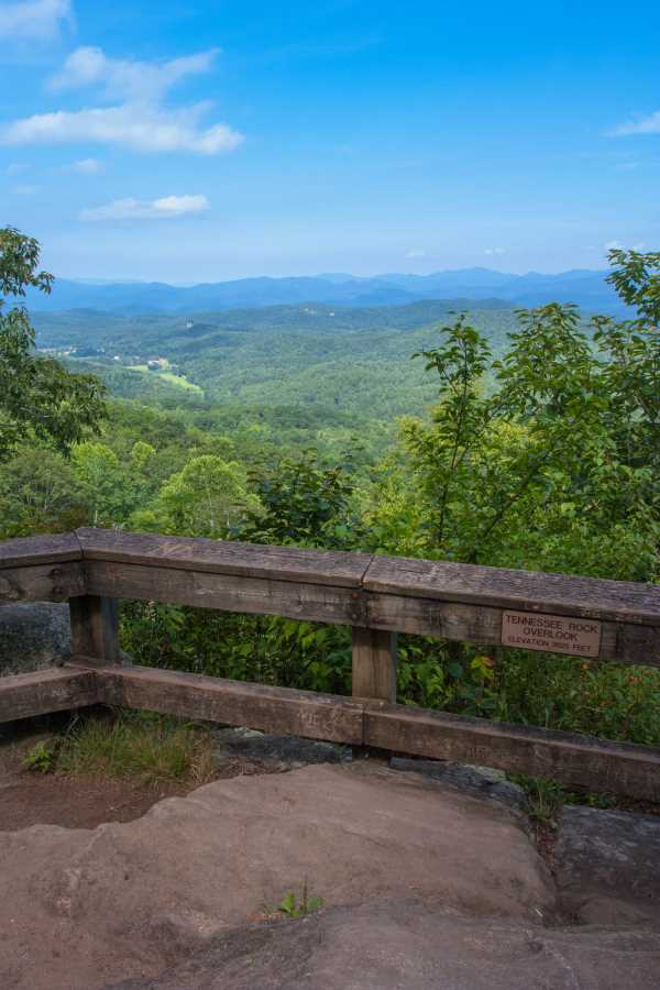 Tennessee Rock Overlook