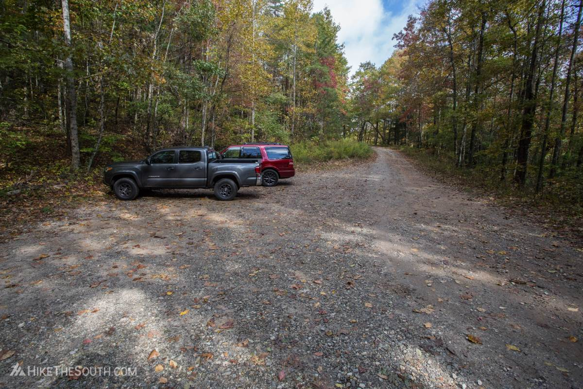 Tray Mountain via Indian Grave Gap. 