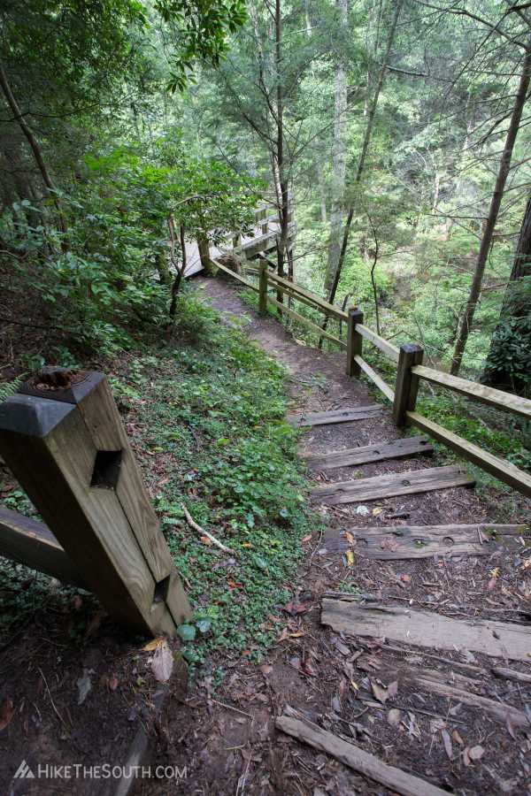 Tumbling Waters Nature Trail. 