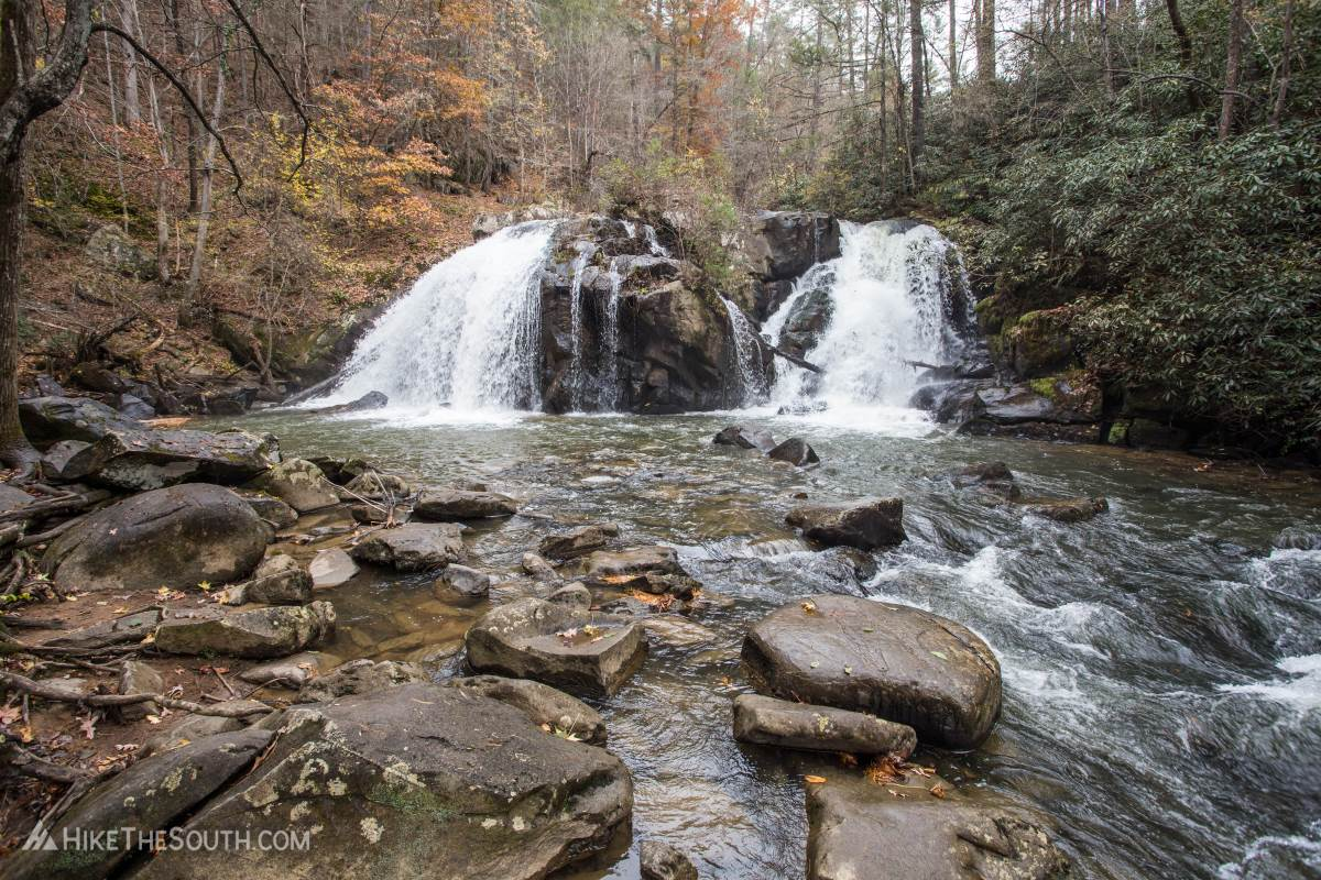 Turtletown Creek Falls Loop. 