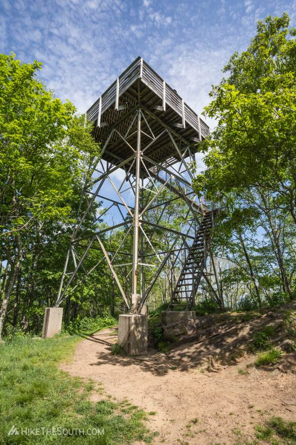Wesser Bald via Tellico Gap. 