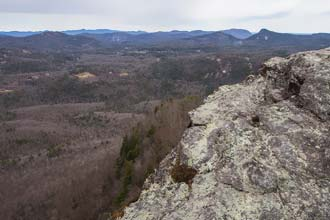 Whiteside Mountain and Devil's Courthouse